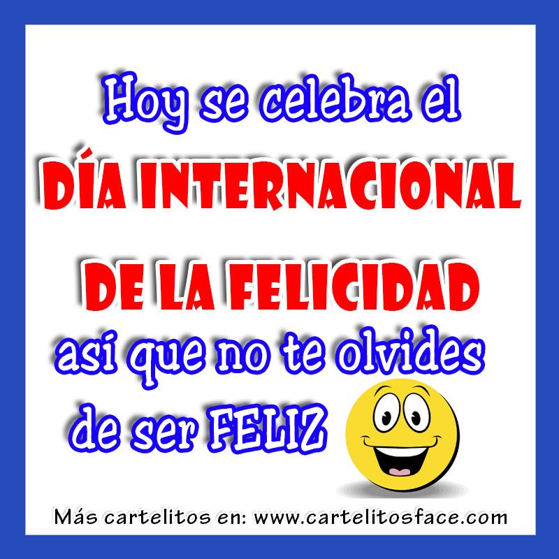 Dia De La Felicidad Imagenes Imagenes Para El 18 De Abril ...