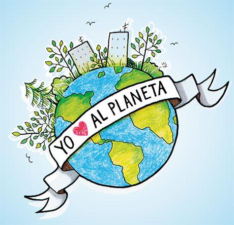 Planeta Tierra Dibujo   Efemérides en imágenes