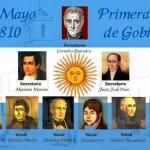 25 de Mayo de 1810 Primera Junta de Gobierno