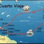 4 de Mayo de 1502 Cristobal Colon inicia su cuarto viaje a America