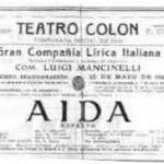 25 de Mayo de 1908 se inaugura el Teatro Colon