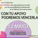 """Hoy 12 de Mayo es el """"Día de la Fibromialgia"""""""