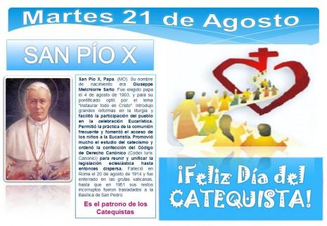 07 - San Pio X - día del catequista
