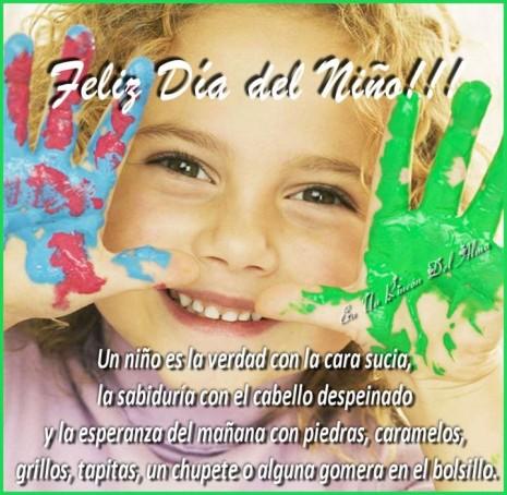 feliz dia a todos los niños argentinos