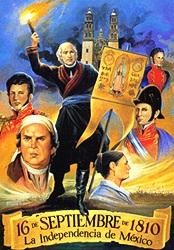 16 septiembre aniversario de incio de la independencia de mexico