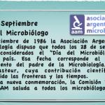 Feliz dia a todos los Microbiologos!!!!