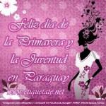 21 de septiembre Día de la Primavera y la Juventud en Paraguay