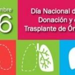 26 de septiembre Día Nacional de la Donación y el trasplante de Órganos en Mexico