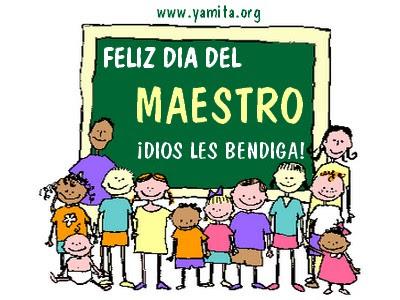 Feliz día del Maestro honduras 17 de sept