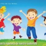 1 de octubre Día del Niño en Guatemala