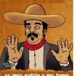 11 de septiembre Día de los Patriotas en Mexico