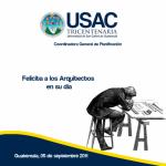 5 de septiembre día del Arquitecto en Guatemala
