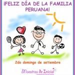 2do domingo de septiembre Feliz día a la Familia Peruana!!!!