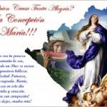 8 de diciembre Dia de la Inmaculada Concepcion en Nicaragua