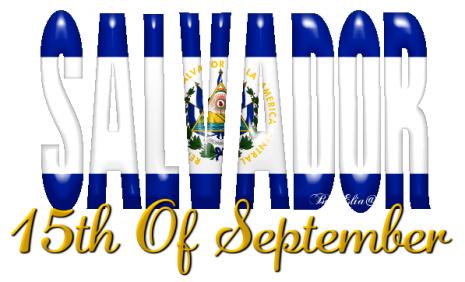 feliz dia de la independencia - 15 de septiembre - el salvador 01