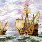 2 de octubre de 1493, Cristobal Colon arriba a la isla de Puerto Rico