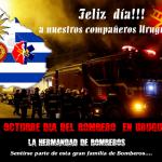 27 de octubre: Día del bombero en Uruguay