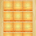 2015: Calendarios Anuales para descargar