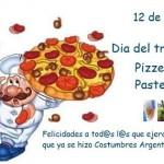 12 de enero: Día del Pizzero y Pastelero