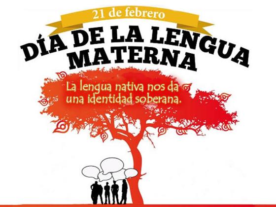 dia internacional de la lengua materna: