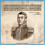 25 de febrero aniversario por el nacimiento del Gral. José de San Martín