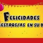 Día del maestro colombiano: 15 de mayo