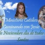 """""""Dia de Todos los Santos"""" se rinde culto a los santos el 1º de noviembre"""