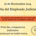 Feliz Dia del Empleado Judicial!!!!!