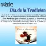 """Todos los 10 de noviembre se celebra en la Argentina el """"Dia de la Tradición"""""""