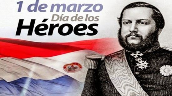 Hoy 1 de Marzo se celebra el Día de los Héroes