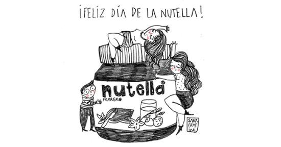 "de febrero ""Dia Mundial de la Nutella"""