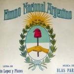 Tarjetas del Dia del Himno Nacional Argentino se celebra todos los 11 de mayo