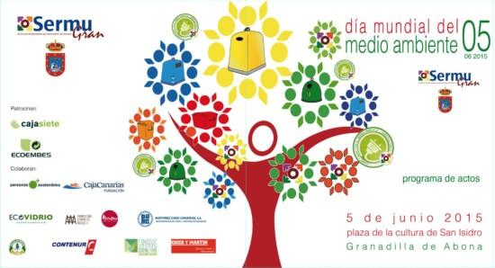 Día-Mundial-de-Medio-Ambiente-Granadilla-de-Abona-2015-cartel