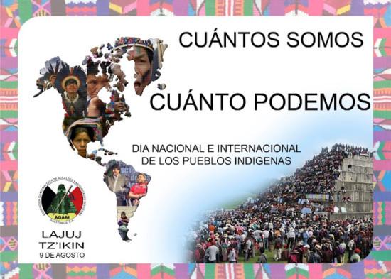 Día Internacional de los Pueblos Indígenas - 9 de Agosto