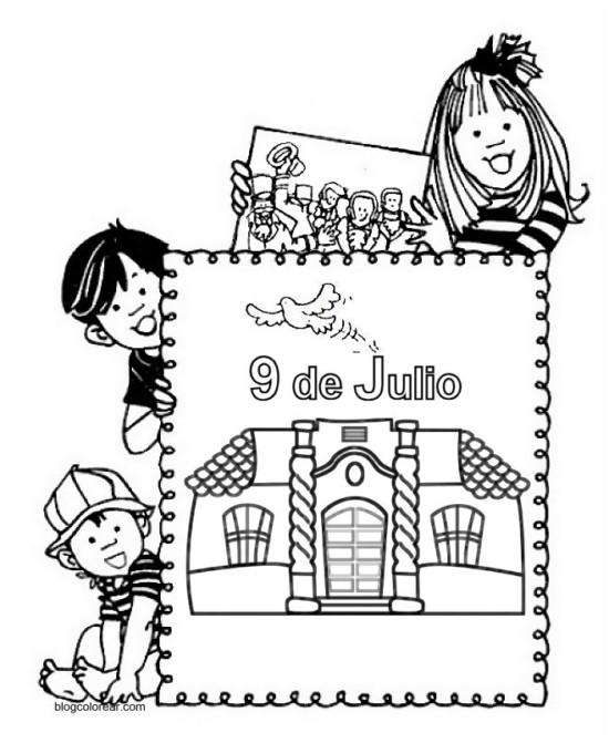 dia-de-la-independencia-argentina-para-colorear-argentina-9-de-julio-1