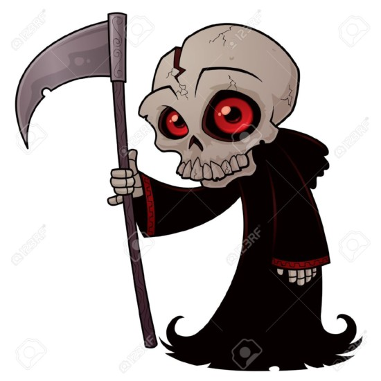 11655277-Vector-cartoon-illustration-of-a-little-Grim-Reaper-with-red-eyes-holding-a-scythe--Stock-Vector