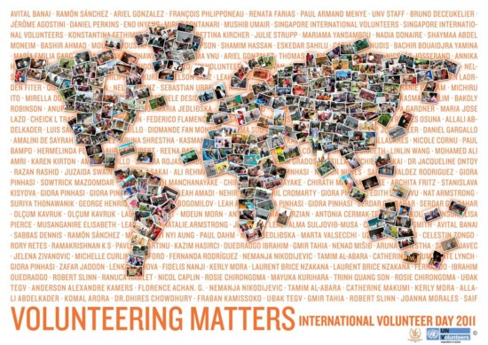 Snapshot of our Volunteering World