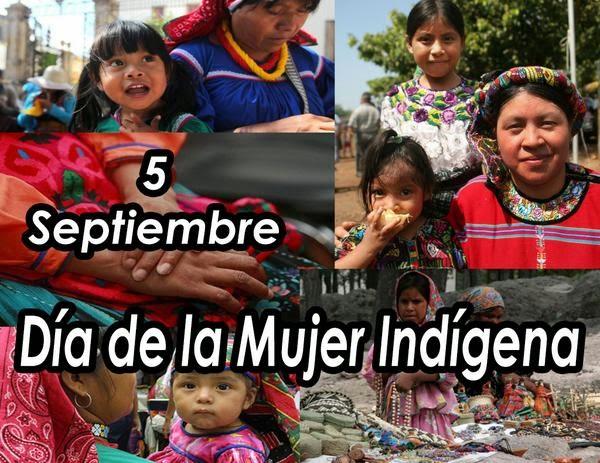 dia de la mujer indigena