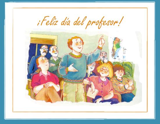 feliz dia del profesor