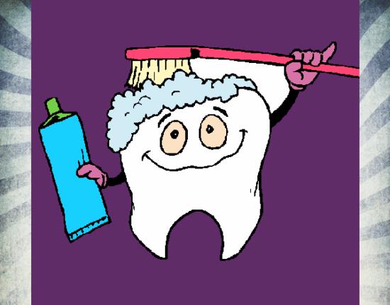 muela-limpiandose-profesiones-dentistas-pintado-por-mileyreni-10106174