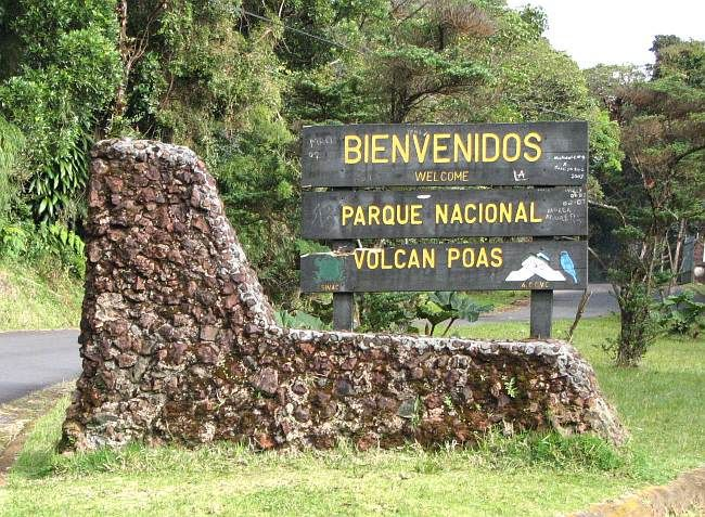 Costa Rica Poas Volcano National Park