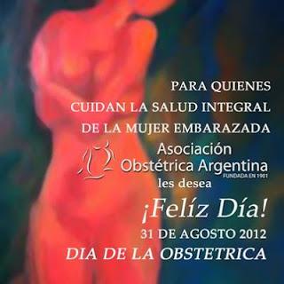 cartel dia de la obstetrica