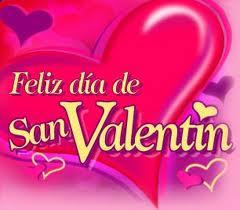 feliz dia de san valentin dia de los enamorados