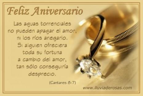 oracion por un feliz aniversario de bodas