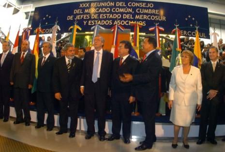 21-07-06 Cordoba - Cumbre del Mercosur