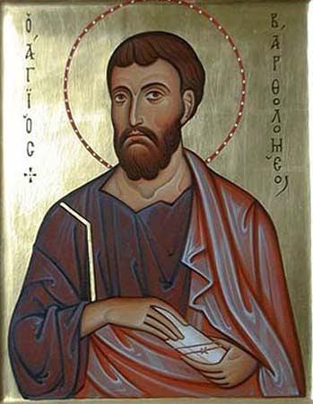 Bartolome apostol 24 de agosto