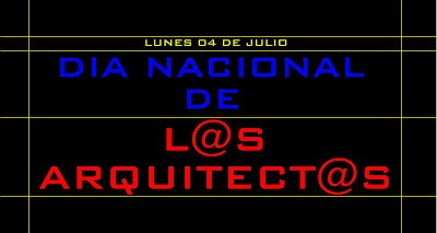 DIA NACIONAL DE LOS ARQUITECTOS