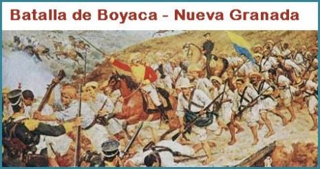 batalla-de-boyaca 7 de agosto en colombia