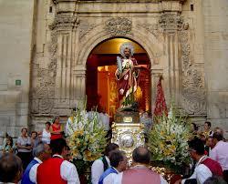 españa fiesta en honor a san bartolome apostol 24 de agosto