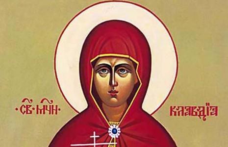 santa claudia matrona 6 de agosto